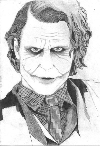 The joker dibujo a lapiz - Imagui