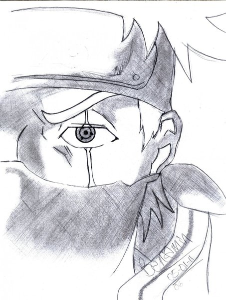 Dibujos A Lapiz De Kakashi Sensei Imagui