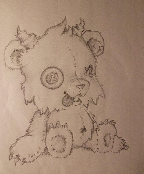 Dibujos de peluches tiernos a lapiz imagui - Dibujos de peluches ...