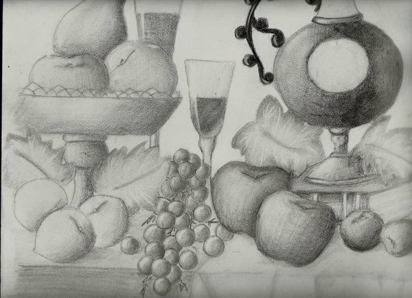 Bodegones para dibujar a lápiz - Imagui