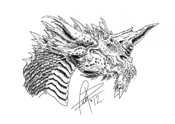 Dragones para dibujar a lapiz dificiles - Imagui