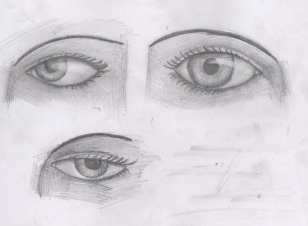 Dibujo Lapiz Ojo Ojos Dibujados a Lapiz Faciles