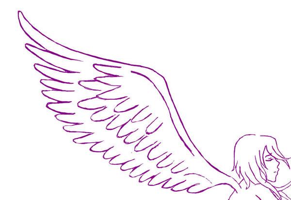 Alas De Un Angel Para Dibujar