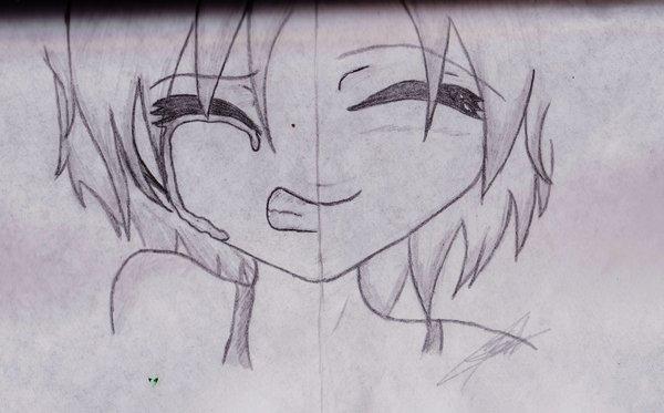Anime Triste Llorando De Amor Para Dibujar