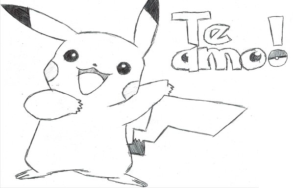 Dibujos Para Colorear Pikachu Pokemon: Divujos De Pikachu