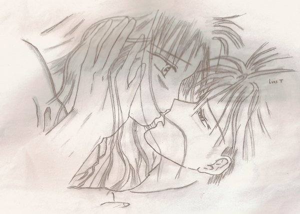 Animes para dibujar romanticos faciles a lapiz - Imagui