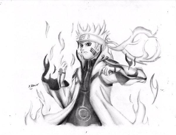 Naruto con lapiz - Imagui