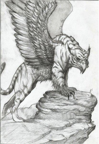 Grifo por mdq181 dibujando for Grifo dibujo