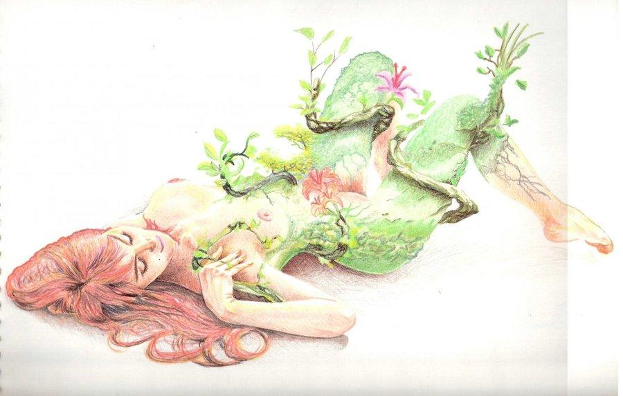 hiedra venenosa a color por herkcam | Dibujando