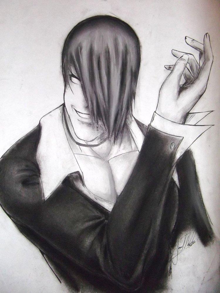Iori Yagamithe King Of Fighters Por Jona Dibujando