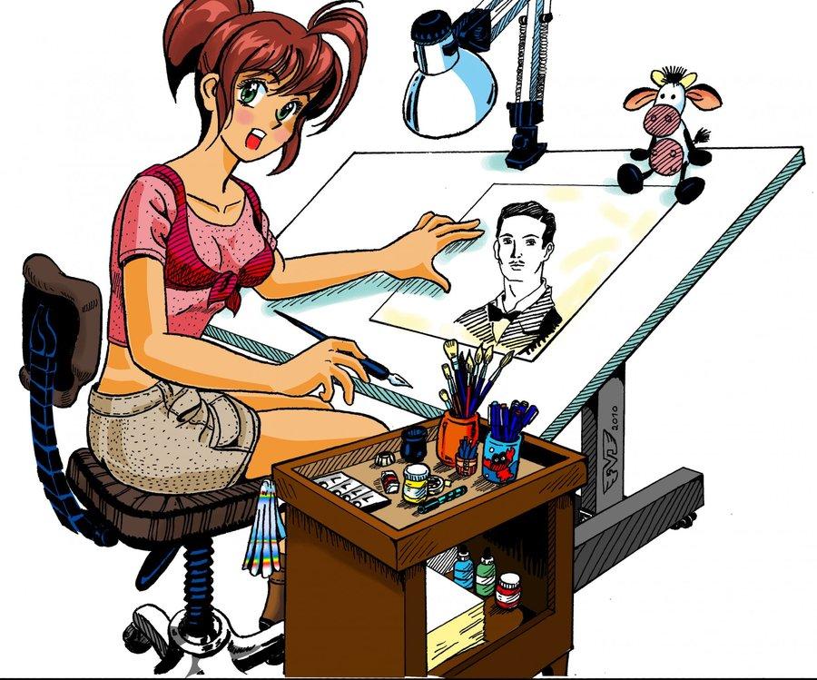 dibujante por fabian2 | Dibujando