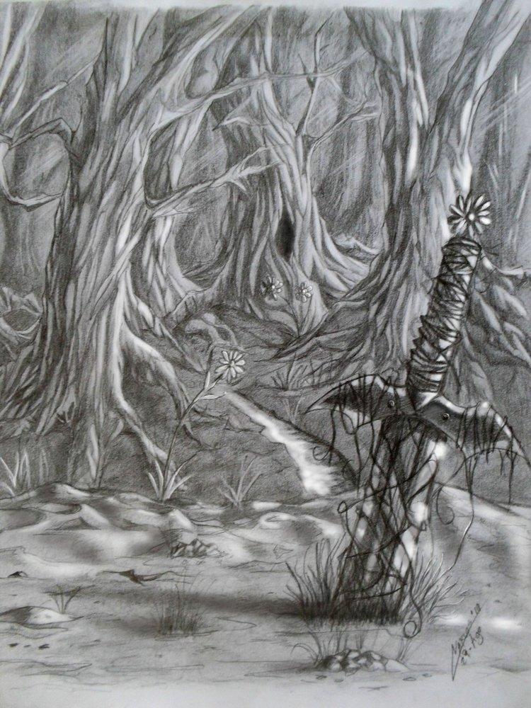 bosque encantado por pituin | Dibujando