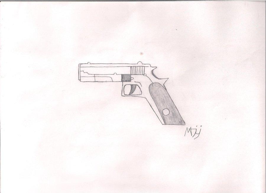 Perfectoimagenes Gun Armas Pistola Dibujos Lápiz Www