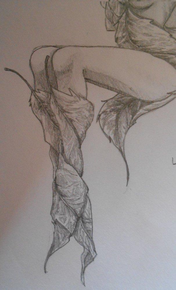 Piernas de una hada por Akari  Dibujando