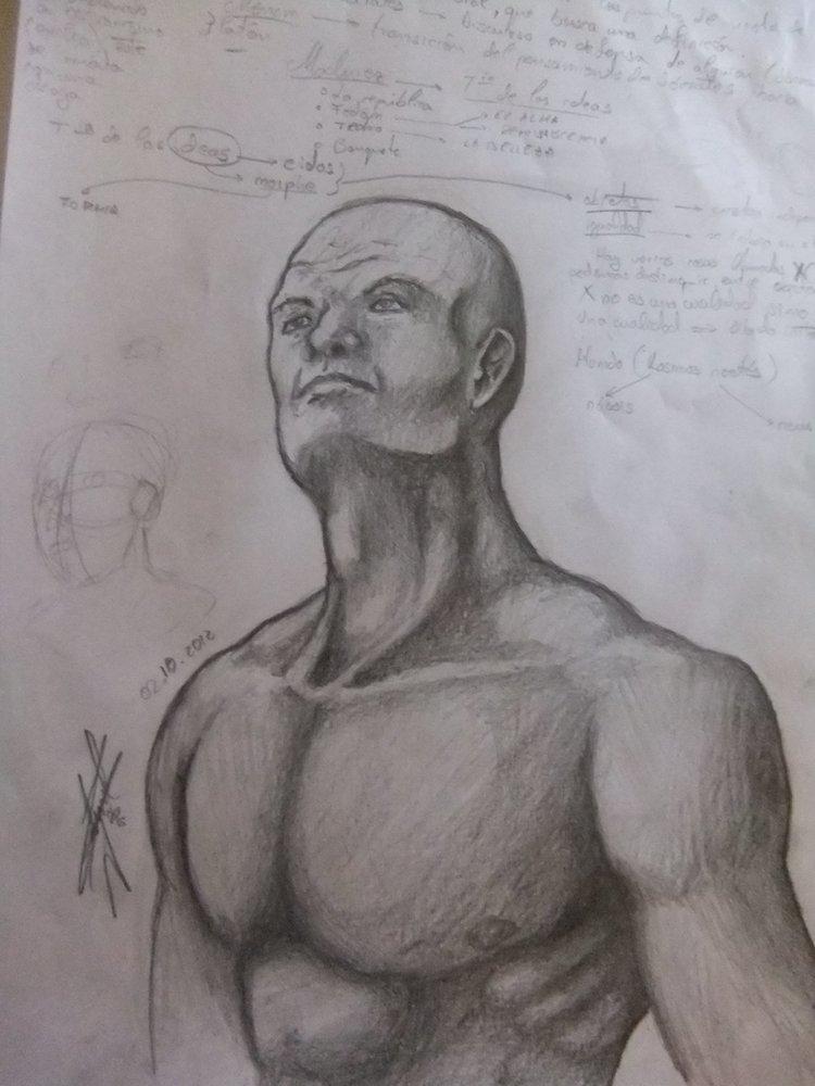 bocetos y estudios de anatomia por Katrinel   Dibujando