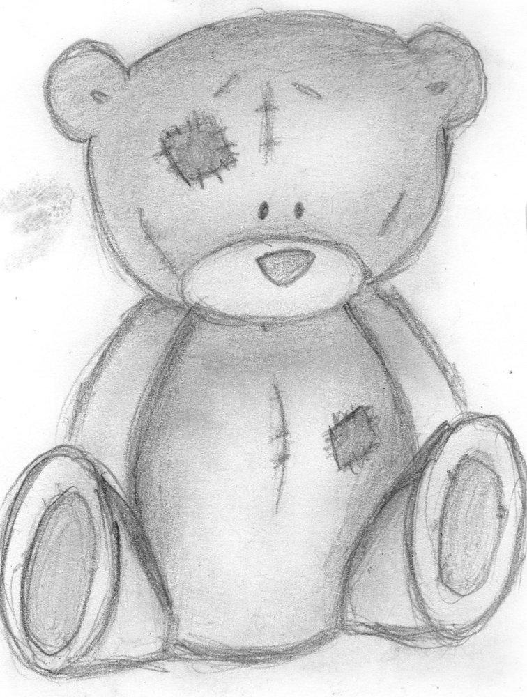 osito por Liz287  Dibujando