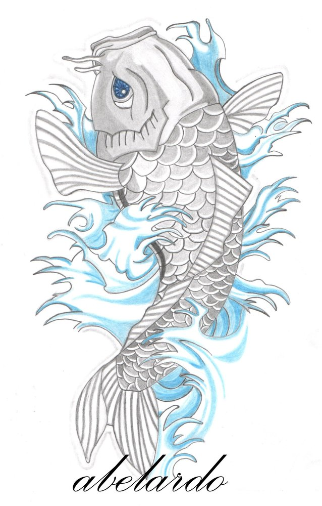 Koi Pez. Gallery Of Tattoo Oriental Pez Koi With Koi Pez. Simple ...
