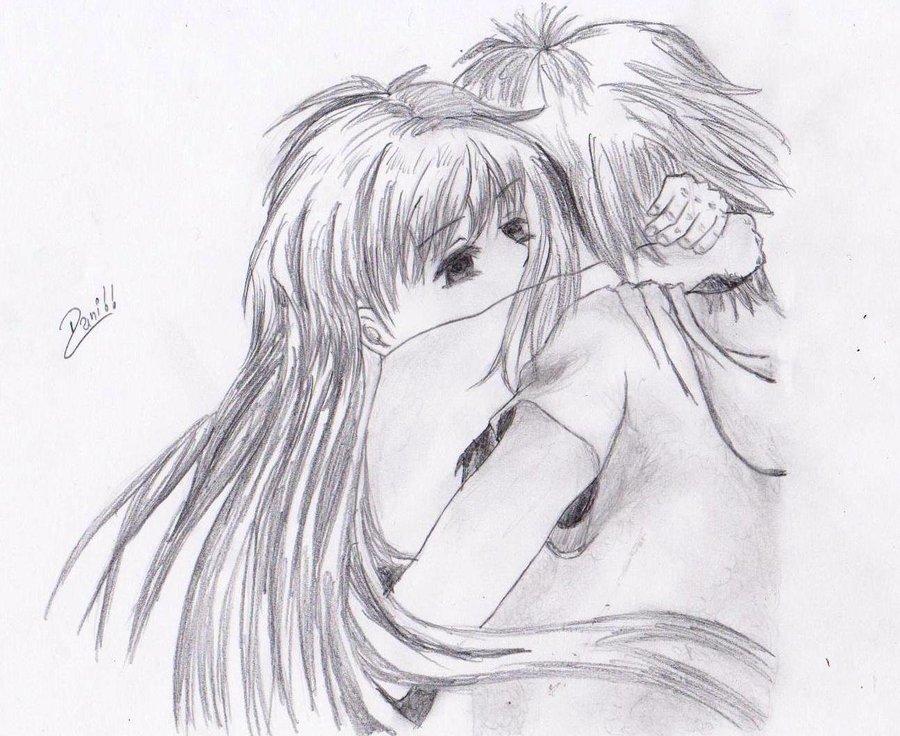Pareja Enamorada Por Danny Dibujando