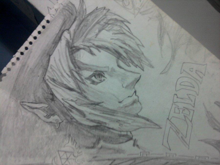 The Legend Of Zelda Por Remgit Dibujando