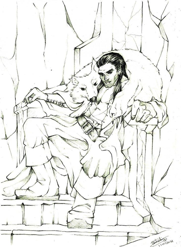 Obern en su trono por NataliaBagu  Dibujando