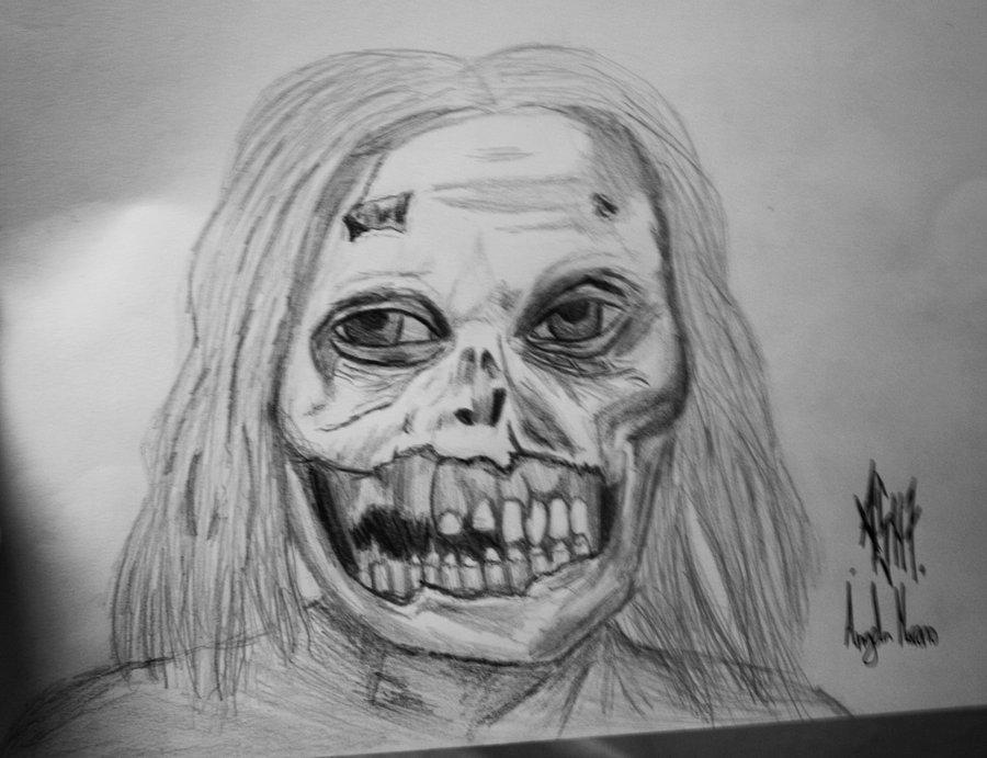 Zombie De The Walking Dead Por AngySkun