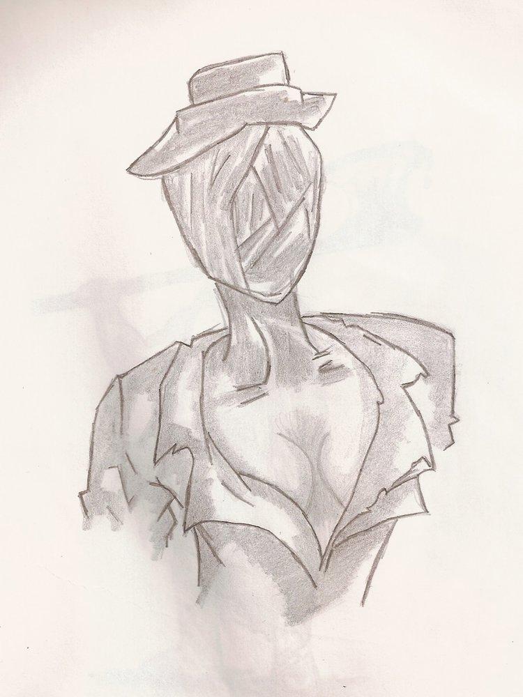 Enfermera sexy de silent hill por LuisTorresBlinker  Dibujando