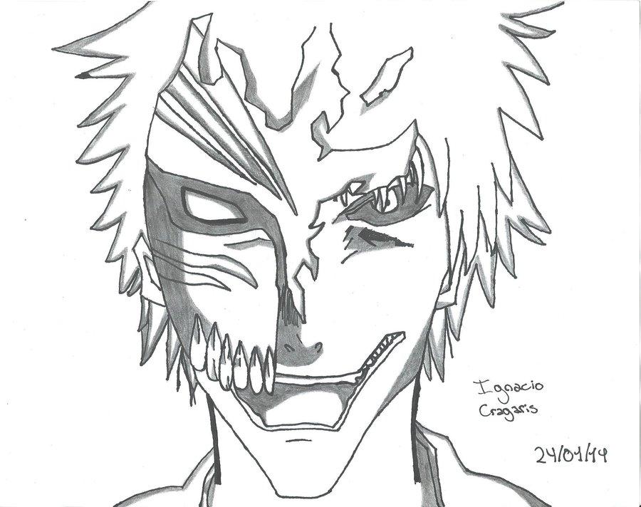 Ichigo Hollow por IgnacioCragaris | Dibujando