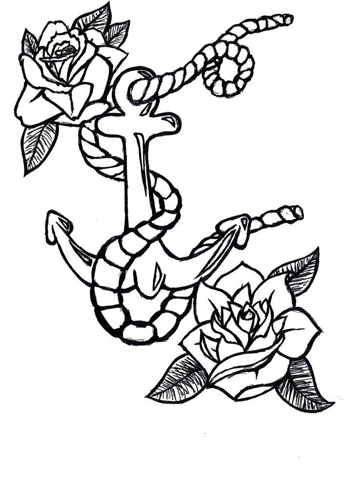 Old School Tattoo Style Por Lucasitos Dibujando