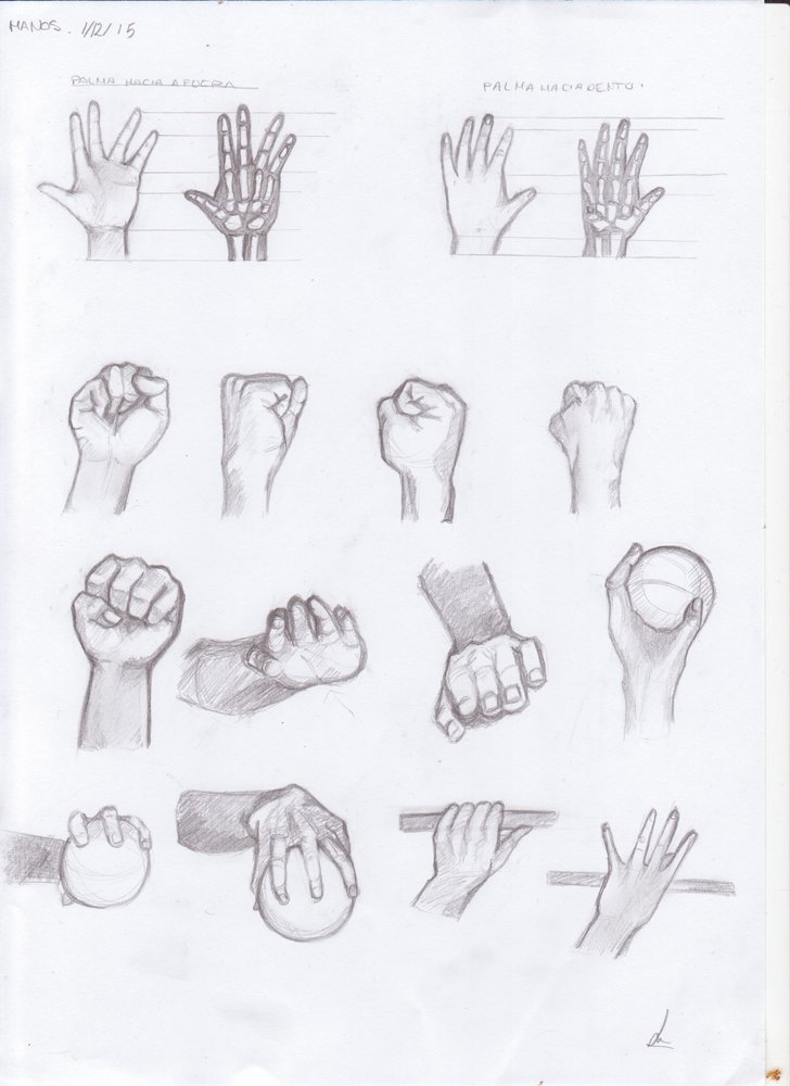 Anatomía Manos por Jense   Dibujando