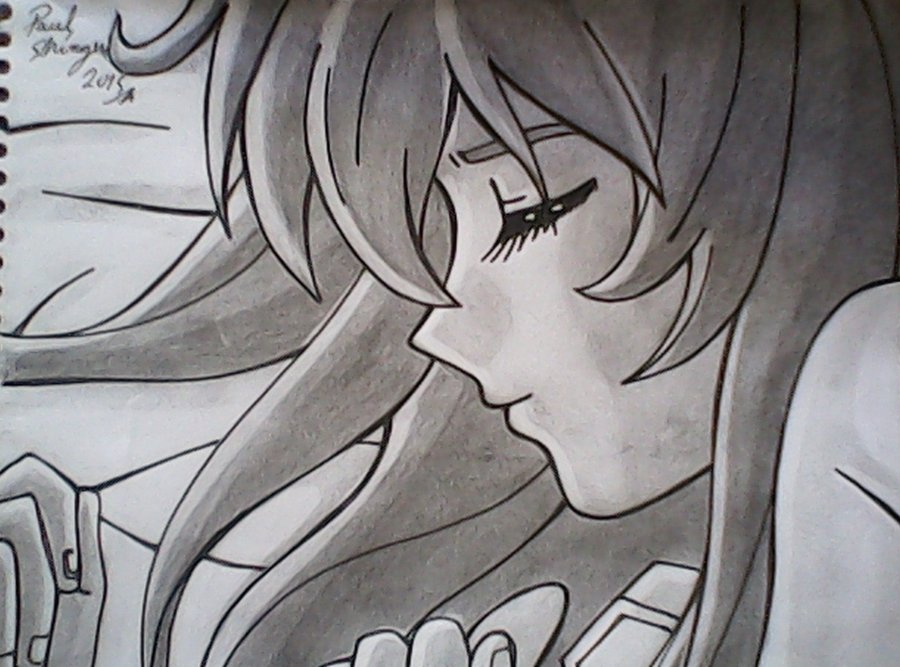 Chica De Anime Durmiendo Rostro Por Shinzen Dibujando
