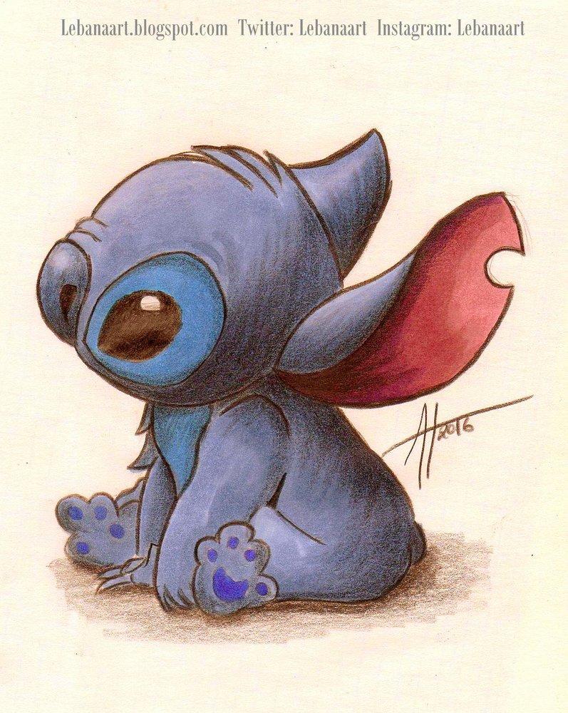 Boceto Stitch Por Anabelartworks Dibujando