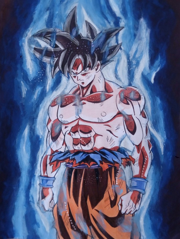 Goku Limit Breaker Ultra Instinto Por Miguelangeld Mb Dibujando