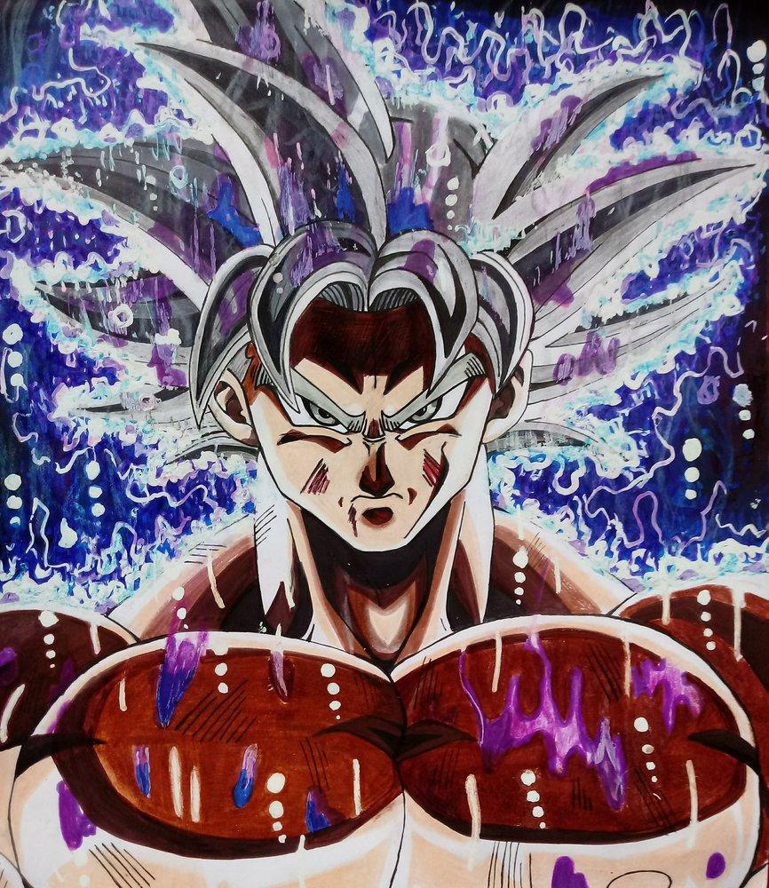 Imagenes De Goku Ultra Instinto Dominado Para Dibujar