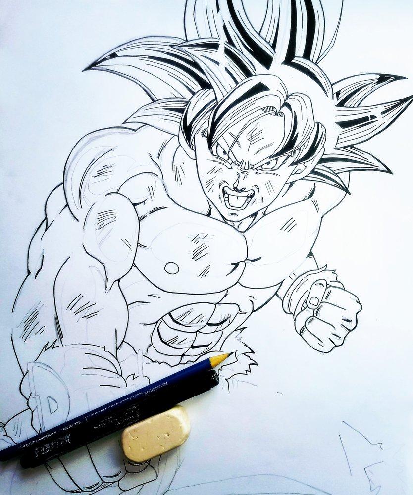 Goku Ultra Instinto Dominado Dbs Box 11 Takahashi Style Por