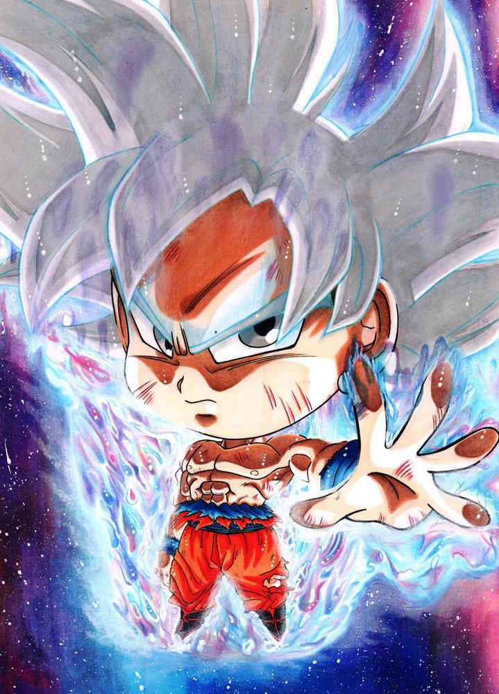 Son Goku Uid Funko Pop Por Cristiano Art89 Dibujando