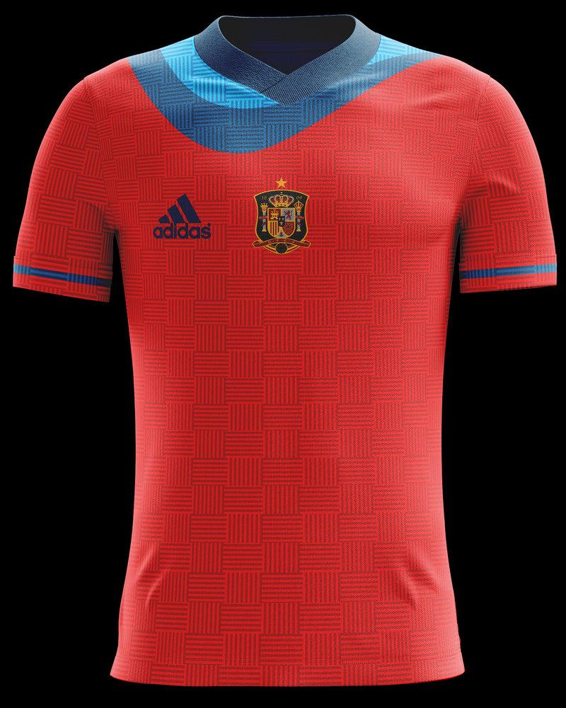 Camiseta selección española por yaxul - Dibujando