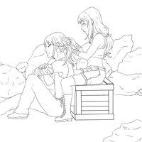 Amanecer: Laura y Aarde Line