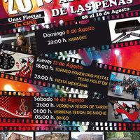CARTEL FIESTAS ALCUBILLA DE LAS PEÑAS 2010