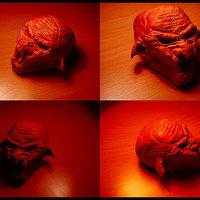 Escultura monstruo