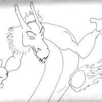 Boceto de dragón