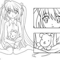 Ilustración - personaje manga