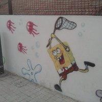 graffiti mural infantil