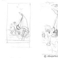 Preparacion y proceso de dibujo