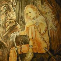 Elfa del bosque