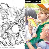 Boceto vs Arte final