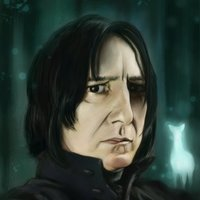Severus Snape - Alan Rickman - Harry Potter