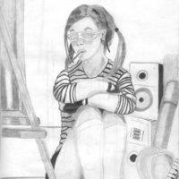chica artista