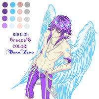 Angel de Grezzel18 pintado por mi