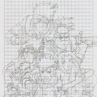 Equipo 7 y Senseis Naruto