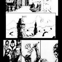 Line Art Tercera pagina - Cazador de Sombras